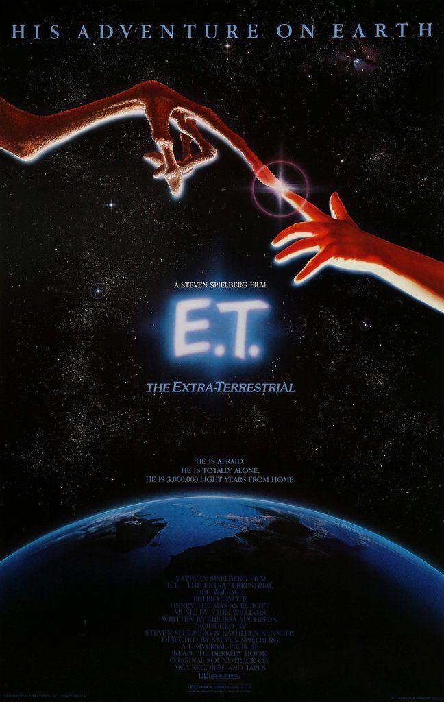 E.T. The Extra Terrestrial (1982) Original One-Sheet Movie Poster