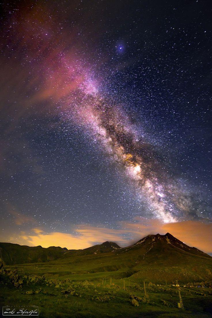 ~~Thousand and One Nights Tale | Milky Way star-filled night, Aksaray, Turkey | by Zeki Seferoglu~~