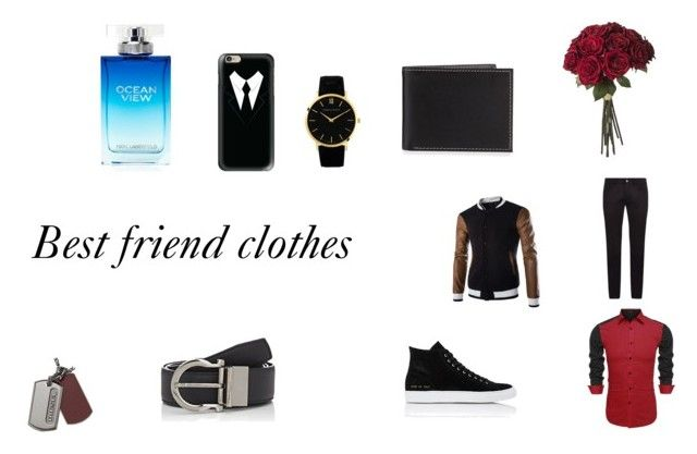 """""""best friend clothes"""" by emmapker on Polyvore featuring Dolce&Gabbana, Common Projects, Larsson & Jennings, Neiman Marcus, Casetify, Salvatore Ferragamo, Diesel, Karl Lagerfeld, men's fashion and menswear"""