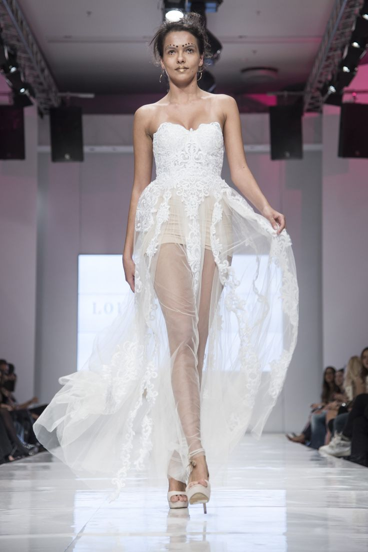 #mini & #strapless #bridal #ss2016