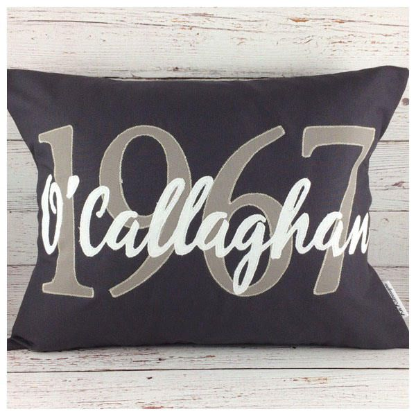 Anniversary gifts, Personalized gifts, 50th anniversary gifts, anniversary gift for parents, anniversary gift for couples, graduation pillow