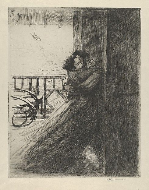 Paul-Albert Besnard (French, 1849). Love, 1885-87. The Metropolitan Museum of Art, New York. The Elisha Whittelsey Collection, The Elisha Whittelsey Fund, 1977 (1977.584.4)