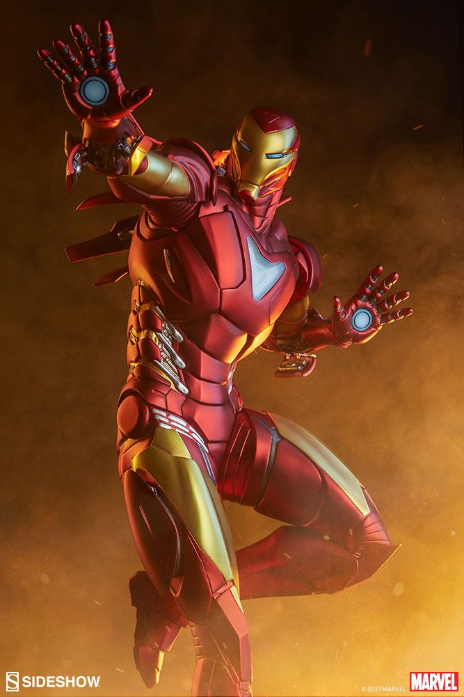 Marvel Iron Man Extremis Mark Ii Statue By Sideshow Collecti Sideshow Collectibles Marvel Iron Man Iron Man Iron Man Comic
