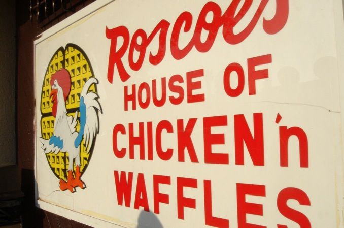 'Roscoes House of Chicken and Waffles' L.A... Yuuuummmy..!!