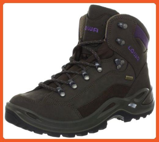 Lowa Women's Renegade GTX Mid Hiking Boot,Slate/Eggplant,9.5 M US - Boots for women (*Amazon Partner-Link)