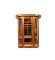 acurelax infrared saunas highest quality 5 years warranty in cedar or hemlock wood. http://www.acurelax.com/products/saunas