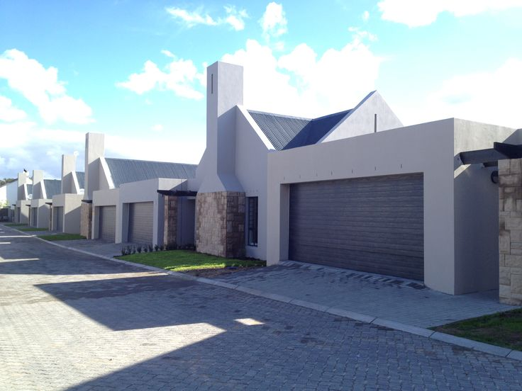 Exterior of the completed Wellington Vin Vallee Estate