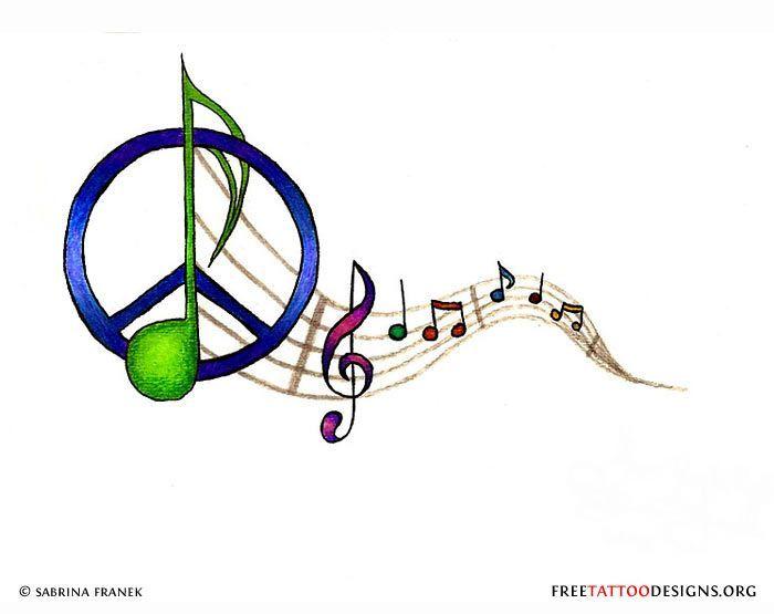 Best 25+ Peace Sign Tattoos Ideas On Pinterest