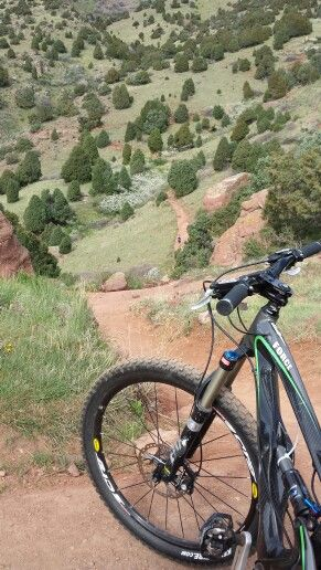 (Mountain Biking) > scenic with inclines, declines, twist, turns and what seems to be clean terrain