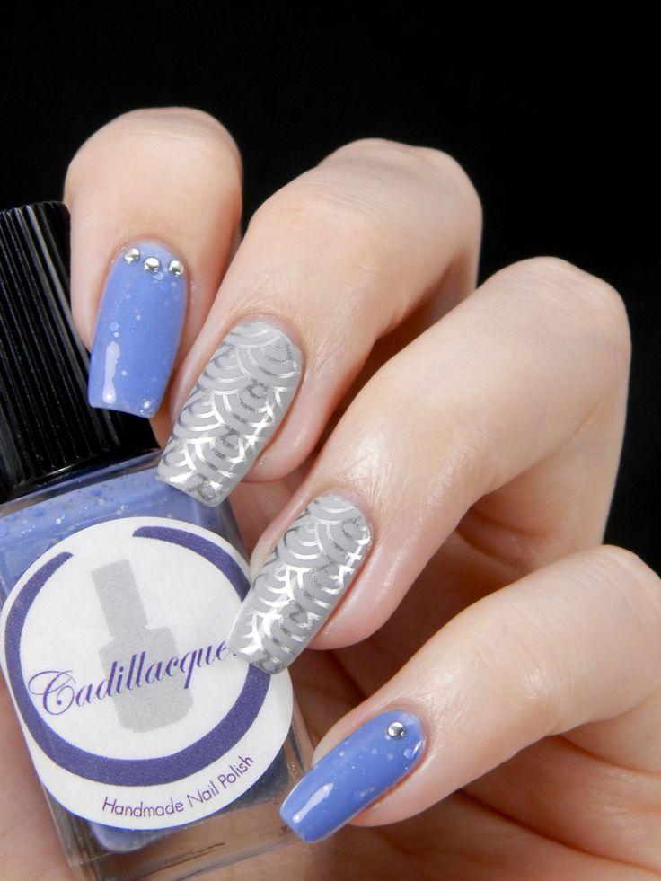 Blue & grey skittlette