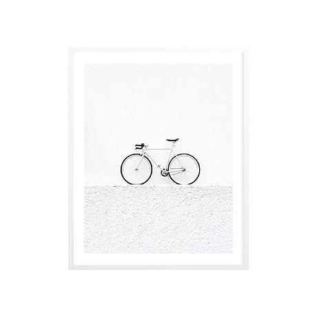 ART PRINT | framed 'push bike' by milk + sugar