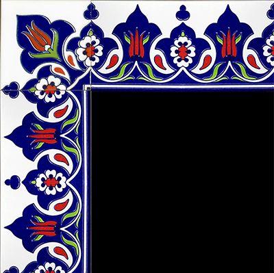10x20 Çini Bordürler