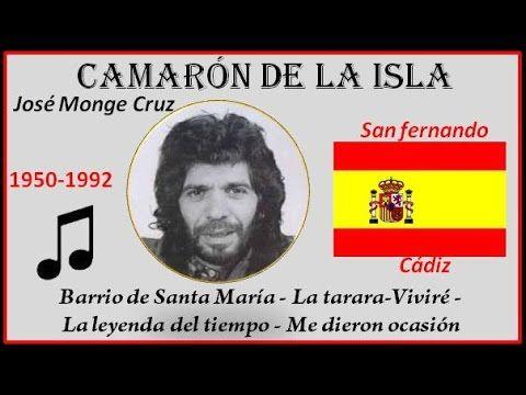 Camarón de la Isla (1950-1992) San Fernando (Cádiz) La tarara-Viviré-La leyenda del tiempo -