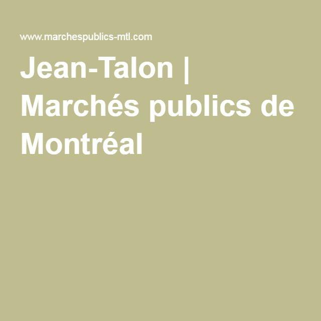 Jean-Talon | Marchés publics de Montréal