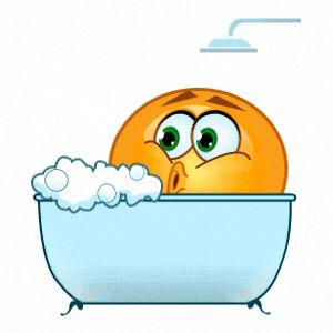 Bubble bath emoji