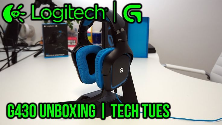 @Logitech #Logitech #LogitechG #LogitechG430 #LogitechG430 #GamingHeadset #Review #GamingHardware #TechTues  This is part of my Tech Tuesday Videos where each Tuesday I release videos Reviews Unboxing and Giving my first impressions on how I find them. This week is on the Logitech G430 Gaming Headset with 7.1 Dolby Surround for PC and PS4  LogitechG430 Gaming Headset Link @ http://ift.tt/2g3GU8W  FEATURES ON-CABLE CONTROLS Sound control close at hand Adjust the volume or mute in seconds…