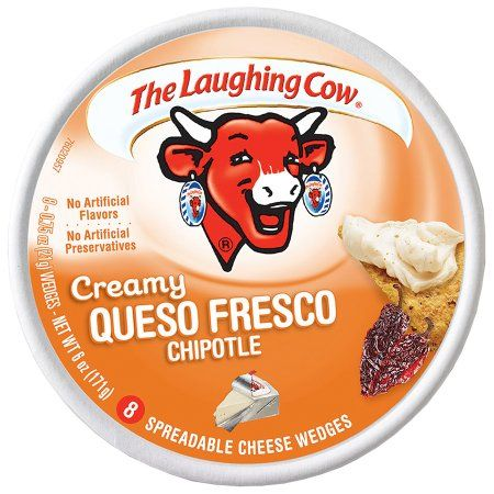 The Laughing Cow® Creamy Queso Fresco Spreadable Cheese 8-0.75 oz. Wedges