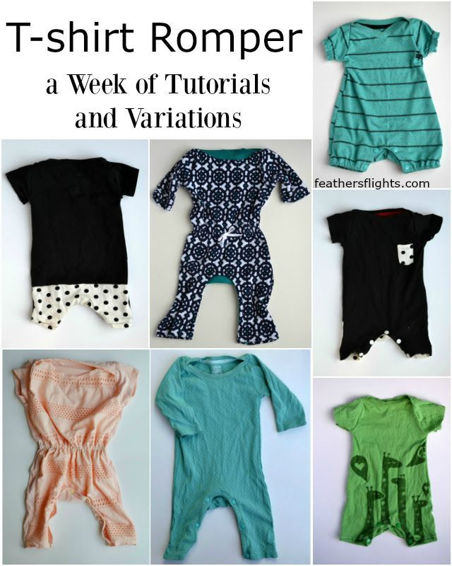 Feather's Flights: A Sewing Blog: T-Shirt Romper FREE PATTERN {Updated!}