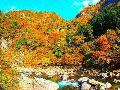 香落渓 : 旅心をくすぐる紅葉スポットの絶景画像集(地名付) - NAVER まとめ