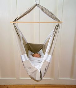 "baby hammock.....totally going to do this instead of buying tons of ""rocking"" items for a baby someday. This is what they do in India...we have things to learn from other cultures who are forced to live simply."
