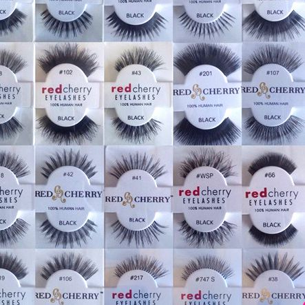 Some of our Red Cherry Lashes                                                                                                                                                                                 More