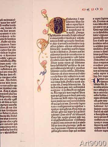 Johannes+Gutenberg+-+Gutenberg-Bibel,+Initiale+A