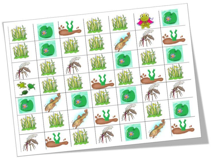 Voici un petit jeu permettant aux élèves de s'entrainer à coder: le Crap'code.  Pour celles et ceux qui ne connaissent pas le jeu de base, il s'agit de l'excellent Crôa! Dont j'ai modifié certaines règles pour avoir comme objectif central de faire coder aux élèves les déplacements d'un têtard pour devenir une grenouille.  Je vous jette la base du jeu (j'ai toujours l'image de Didier Bourdon regardant au sol les bases du jeu jetées par Bernard Campan, mais je m&...
