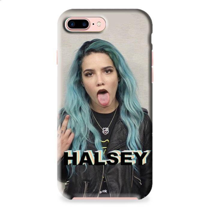 Halsey Blue Hair iPhone 7 Plus 3D Case Dewantary