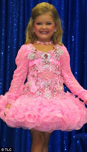 Rivalry: Pageant pro Eden Wood,  six, in the series of Tantrums and Tiaras