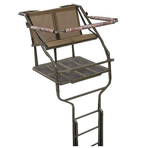 Millennium L-220-SL 4836-0048 Double Ladder Tree Stand Accessory   https://huntinggearsuperstore.com/product/millennium-l-220-sl-4836-0048-double-ladder-tree-stand-accessory/