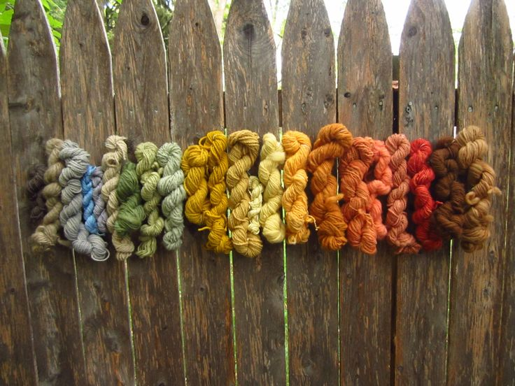 it's bloody brilliant! :)  rainbow of natural dyes