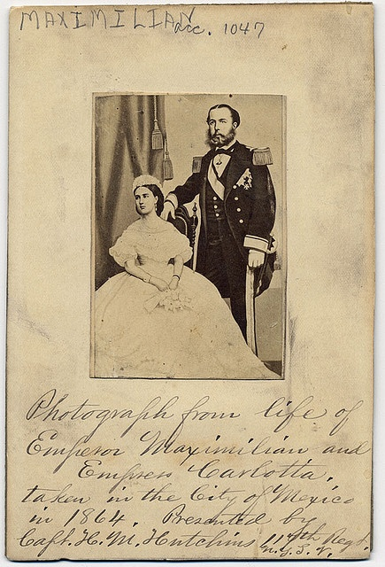 Emperor Maximilian and Empress Charlotte of Mexico, 1864. Appointed by Napoleon III, Maximilian and Charlotte ruled Mexico from 1864 to 1867, residing in the lavish Chapultepec Castle, the official residence of power. However, they faced stiff opposition from Benito Juárez and the Liberals, who would wage a successful six-year war to regain control of Mexico that ended with Maximilian's capture and trial. Despite many appeals from European leaders to spare Maximilian's life, Juárez refused…