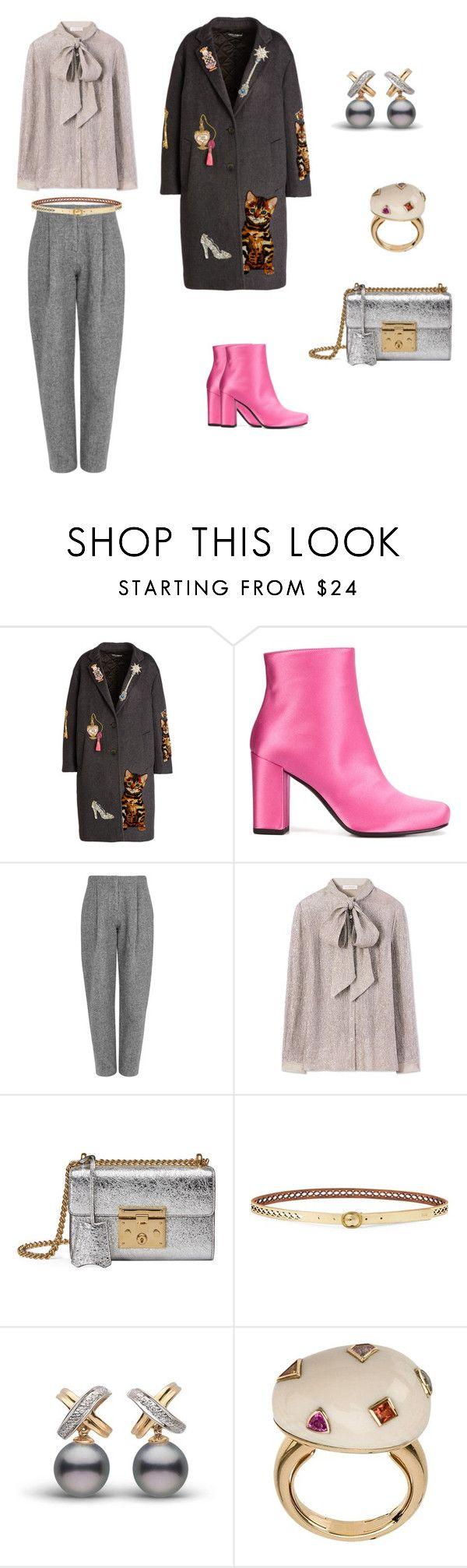 """Set 2"" by natucsya on Polyvore featuring мода, Dolce&Gabbana, Yves Saint Laurent, Acne Studios, Tory Burch, Gucci, Lauren Ralph Lauren и BIBI VAN DER VELDEN"