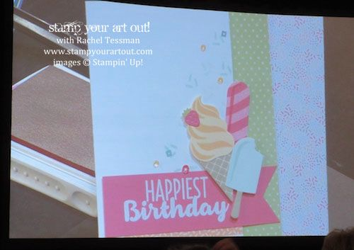 OnStage November 2016 – Cool Treats stamp set …#stampyourartout - Stampin' Up!® - Stamp Your Art Out! www.stampyourartout.com