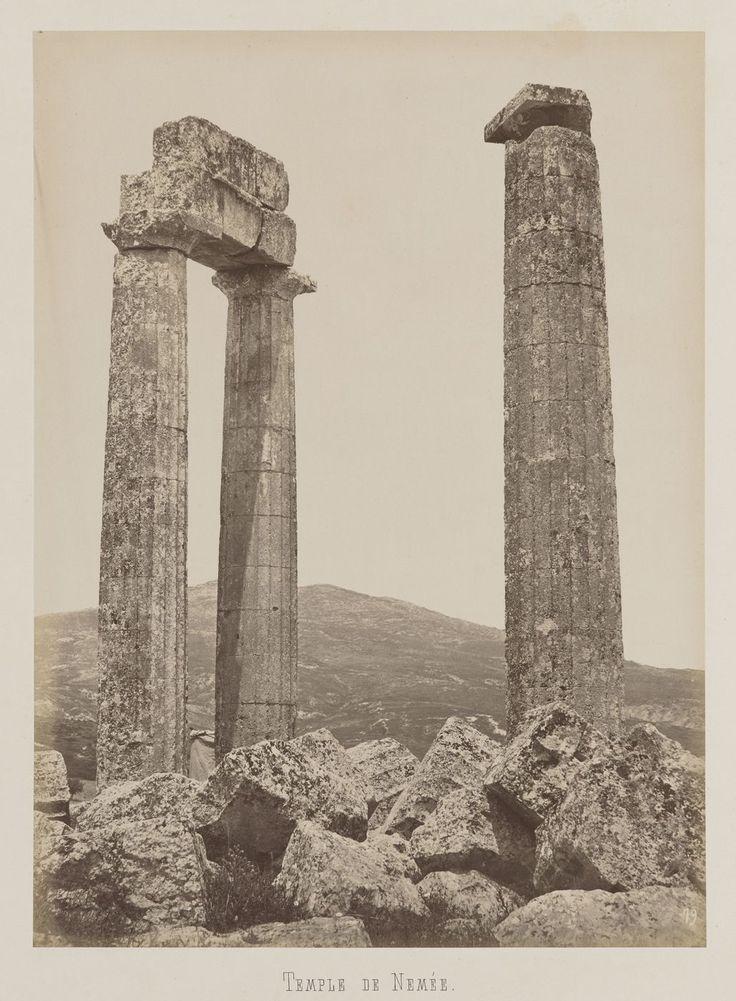 Némée, Péloponnèse. Temple de Zeus © Musée Guimet, Paris, Distr. Rmn / Image Guimet