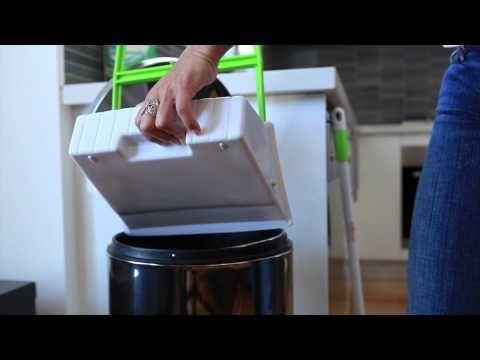 Long handled dustpan & brush set is designed for effective ergonomic cleaning.