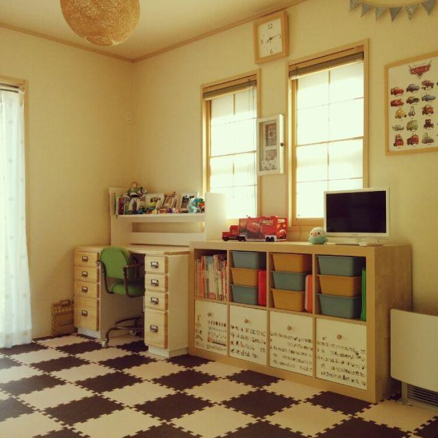 おもちゃ収納のアイデアとコツ50選   RoomClip mag   暮らしとインテリアのwebマガジン