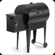Junior Traeger grill.............didn't KNOW there were wood pellet grills made.........wonder how these are ???