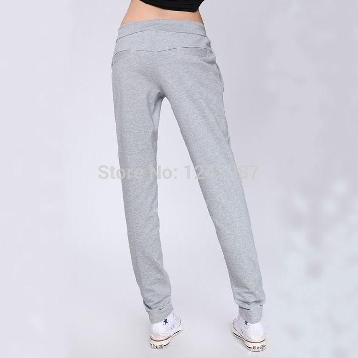 Hot Sale 2014 new Autumn loose sport pants women casual harem long trousers high quality training spring Sweatpants XXL XXXL