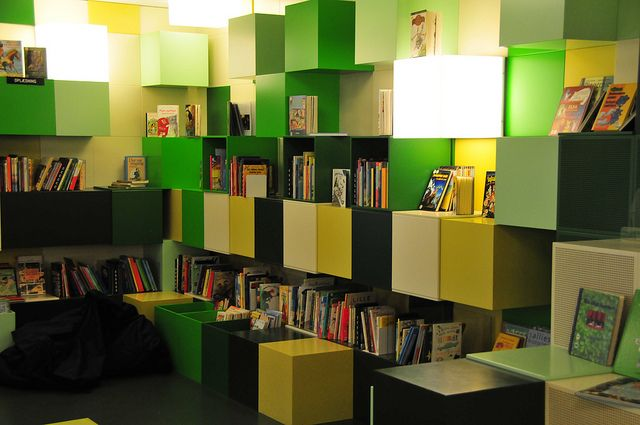Biblioteket på Rentemestervej, København NV