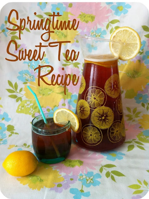 Springtime Sweet Tea