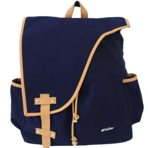 tas ransel vintage,,  pulcher bags - corvus navy Rp. 219.000 085.7722.555000 -- tasranselvintage.com