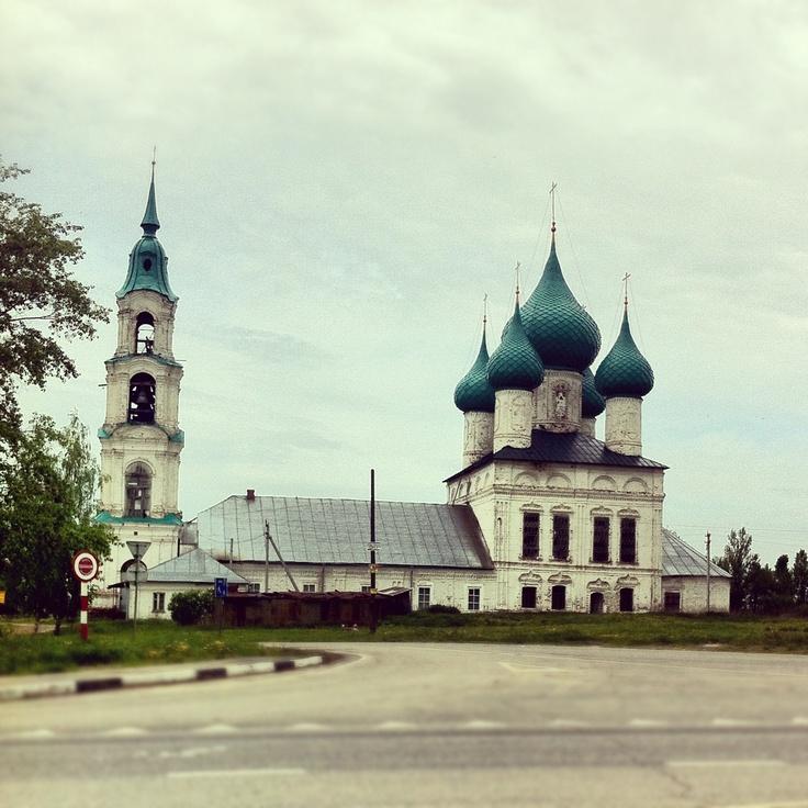 Храм перед Костромой