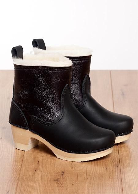 Lottas Black Shoes