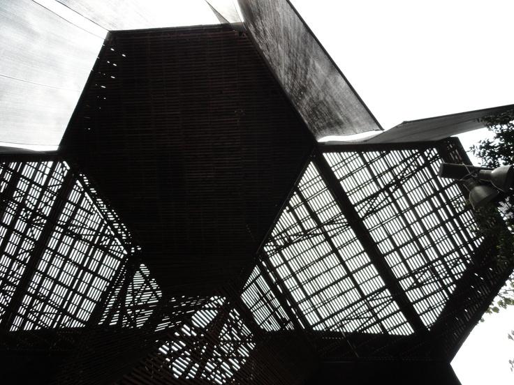 techo del orquideorama!
