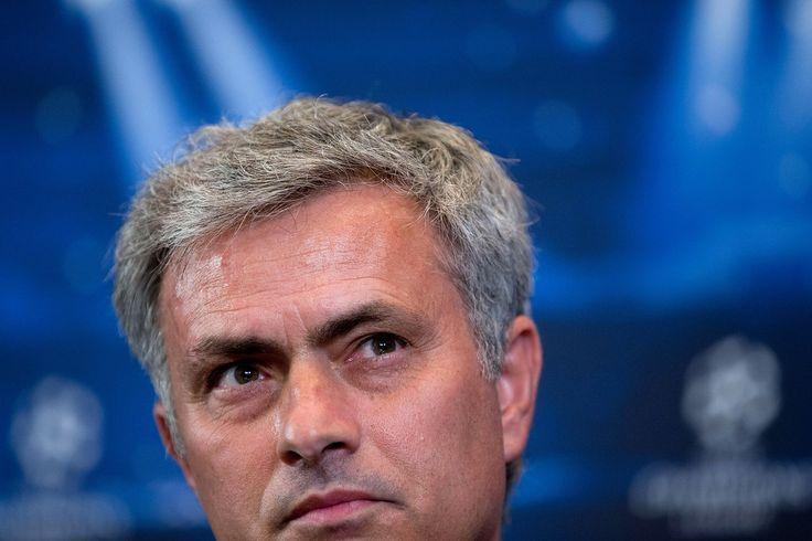 Jose Mourinho Photos: Chelsea FC Press Conference