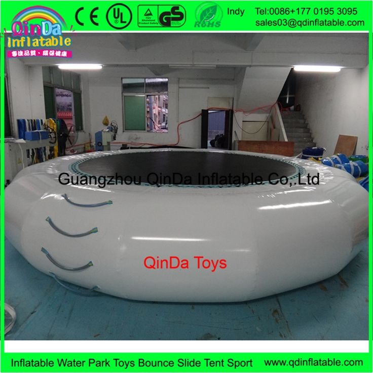 511.52$  Buy now - 4m*0.65m inflatable water jumping trampoline,free air pump inflatable bounce bed for sale  #magazine