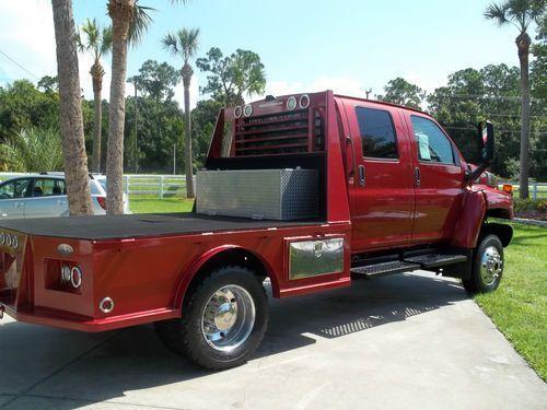 Chevrolet 4500 4x4 for Sale   Buy used CHEVY 4500 KODIAK 4X4 DIESEL CREW CAB in