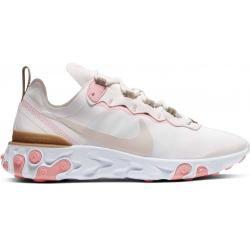 Nike Sportswear React Element 55 Damen Sneaker schwarz Nike
