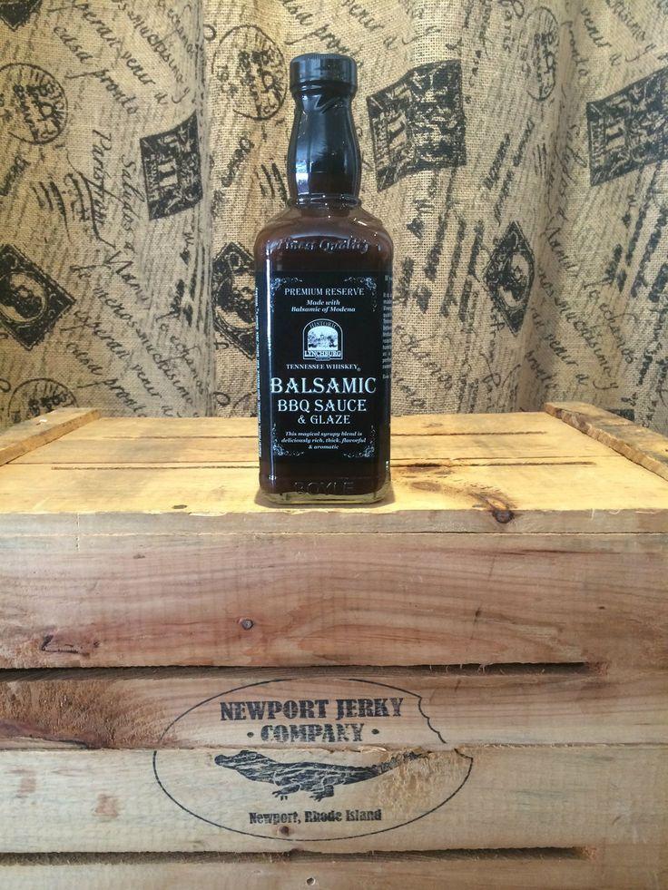 Newport Jerky Company - Tennesse Whiskey Balsamic BBQ Glaze, $9.99 (http://www.newportjerkycompany.com/tennesse-whiskey-balsamic-bbq-glaze/)